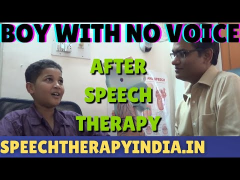 SLP Sanjay Kumar: After Functional Aphonia Therapy  || Voice