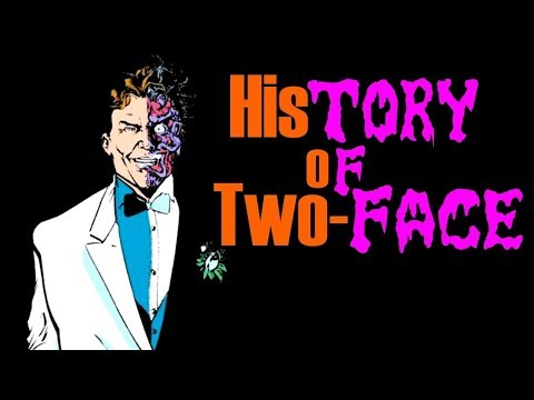 Living Jekyll And Hyde - The Complete History Of Two-Face