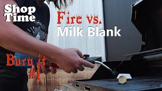 Burn It #1: Milk Blank