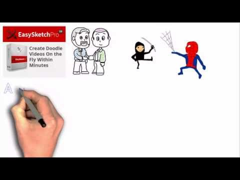 Easy Sketch Pro 2 Review And Demonstration Of The Easy Sketch 2 Video Creation Software