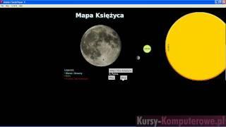 Kurs Astronomii - Księżyc