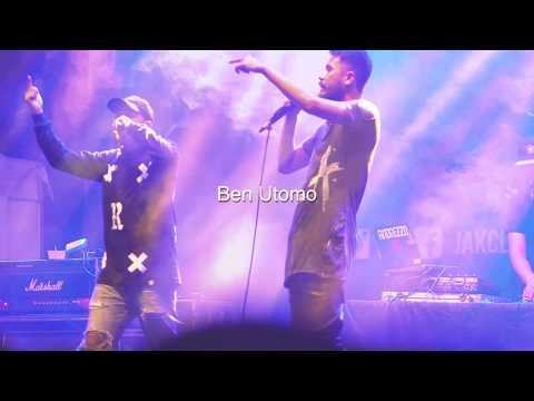 Ecko Show Ft, Ben Utomo - On Dat Bullshit LIVE @jakcloth Cikarang 2017