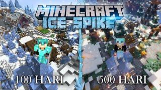 500 Hari di Minecraft tapi Ice Spike Only