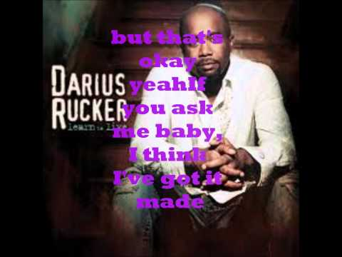 Alright lyrics Darius Rucker
