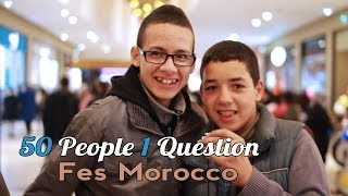50 people 1 question fes morocco