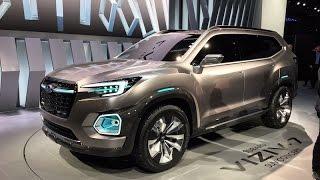 Subaru Viziv-7 SUV Concept – Redline: First Look – 2016 LAAS