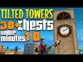 A Complete Guide To Tilted Towers - ALL Chest Locations & SECRET Loot - Fortnite Tilted Towers Chest
