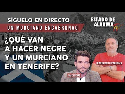 DIRECTO: Un murciano ENCABRONAO. ¿Qué van a hacer NEGRE y un MURCIANO en TENERIFE?