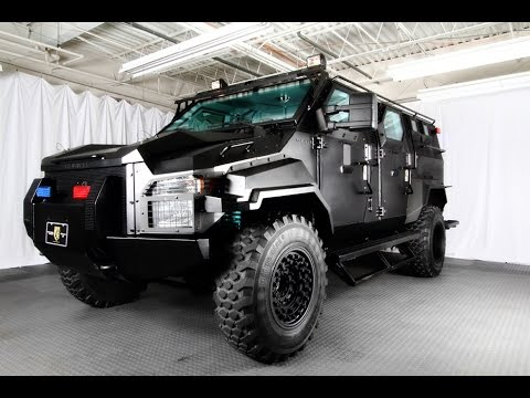 Armored Truck For Sale >> Armoured Ford F-550 Swat Special, ready to trade hands for a little under $300,000 - YouTube