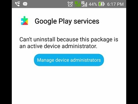 UNINSTALL GOOGLE PLAY SERVICE WITH NEW WAY 100% WORK (CAN