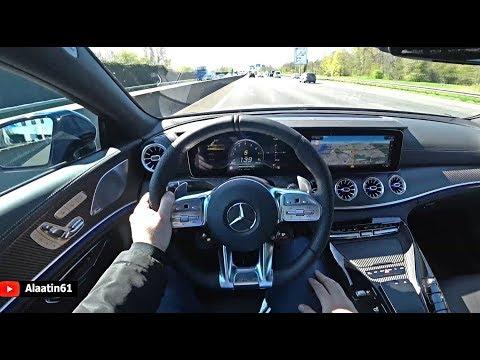 2020 Mercedes-AMG GT 63 S 4 Door Coupe Test Drive | POV Autobahn