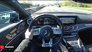 2019/2020 Mercedes-AMG GT 63 S 4 Door Coupe 4Matic Test Drive | POV Autobahn