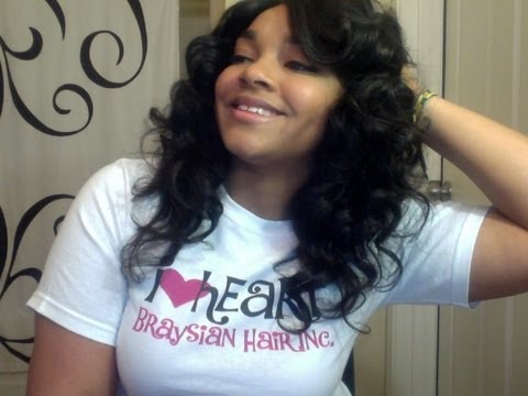 Braysian Hair Inc Brazilian Body Wave Hair Review Youtube