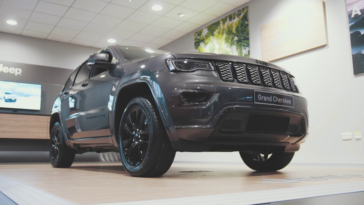 All New Jeep Grand Cherokee Night Eagle Available With Up To