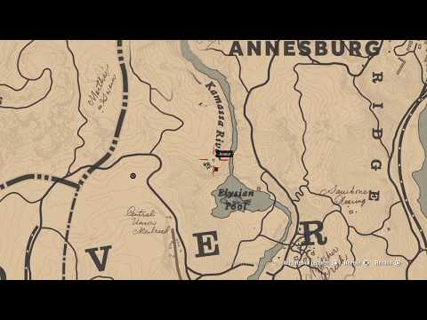 Carte Au Tresor Annesburg.Red Dead Redemption 2 Tresor De Annesburg Soluce Youtube