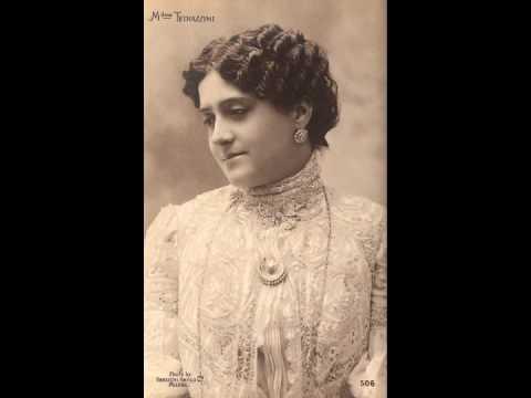 Italian Coloratura Soprano Luisa Tetrazzini ~ Bell Song 1911