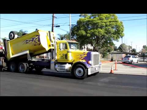 Road Paving in Action!