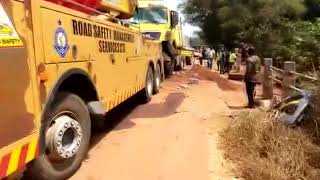 Heap Of Sand Linked To Ebony's Car Crash - JoyNews 9-2-18