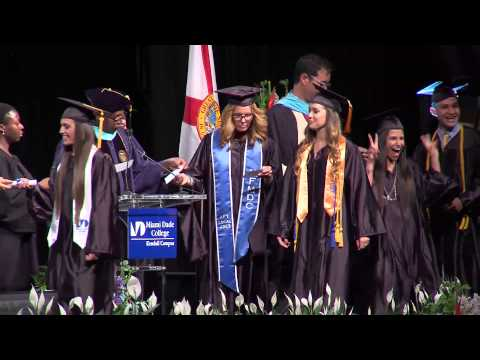 Miami Dade College Kendall Campus Commencement Ceremony 2015 - Part 3