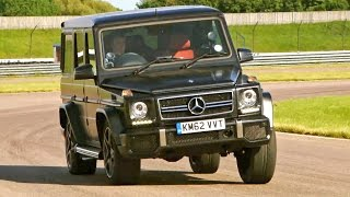 Testing The Mercedes G63 AṀG #TBT - Fifth Gear