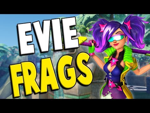 Paladins: Evie Ranked - IS SHE TOO STRONG?