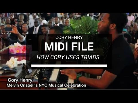 An explanation of Cory Henry's chords | Tutorial + Midi Files + Explanations
