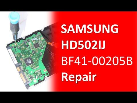 SAMSUNG HD502IJ BF41 00205B Hard Drive repair and data recovery