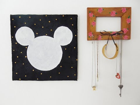 DIY Mickey Mouse Affordable Wall Art