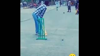 Most Weird Bowling Action   Street Cricket  