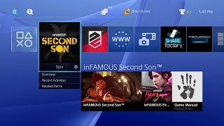 PS4 - 2.0 System Update Preview