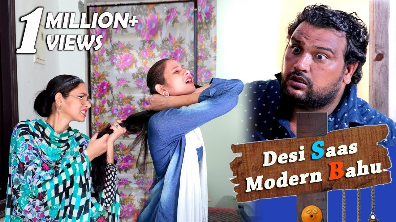 Desi Saas/Modern Bahu | Firoj Chaudhary | Full Entertainment | Comedy