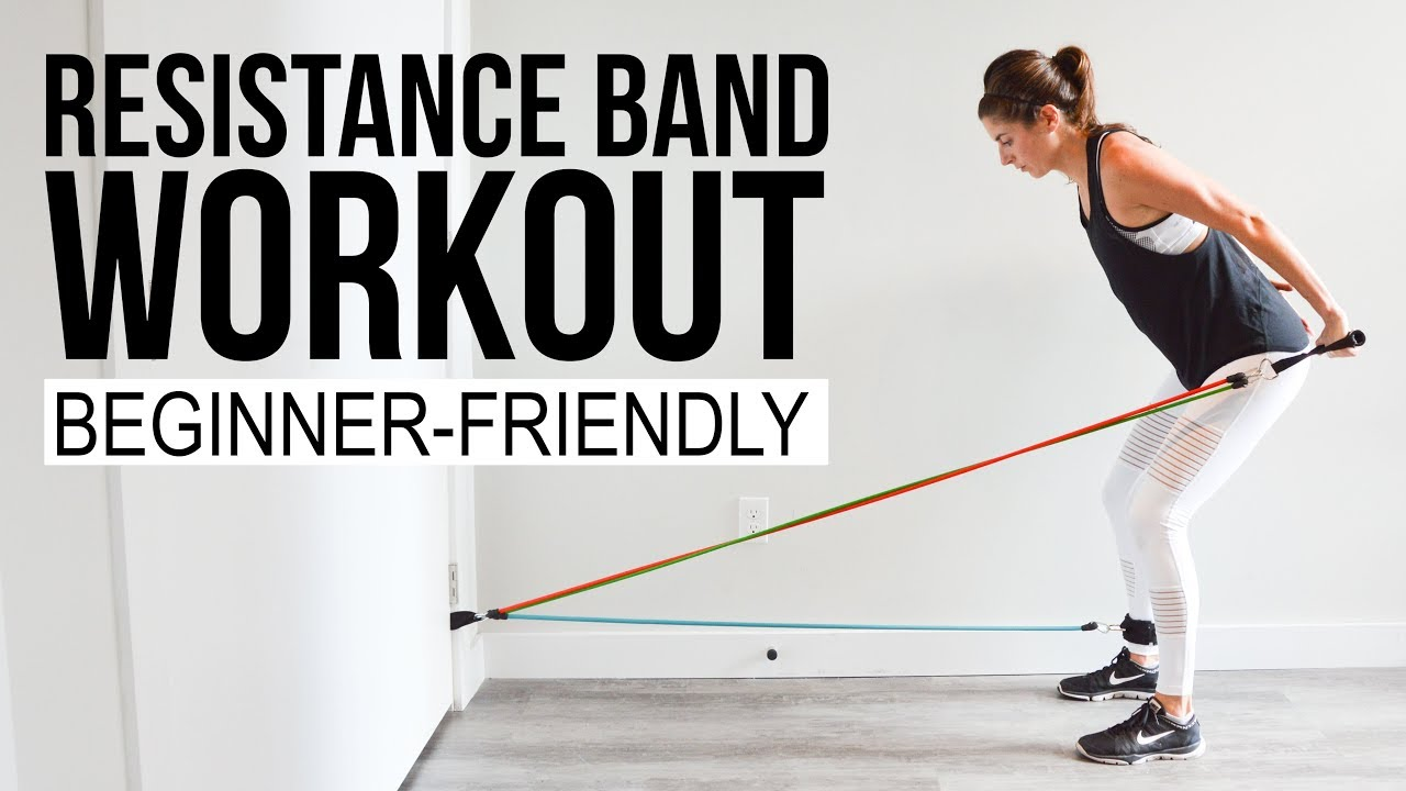 Full Body Resistance Band Workout Low Impact Beginner Friendly