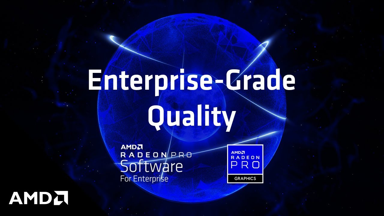 AMD Radeon™ Pro Software | AMD