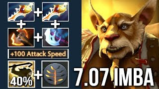 NEW IMBA 7.07 DIVINE RAPIER Brewmaster 40% Crit Cancer Talent by Gorgc x SingSing WTF Dota 2