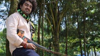 """""""Kannukku Mai Azhaku"""" Abhijith P S Nair Violin fusion Cover (A.R. Rahman cover)"""