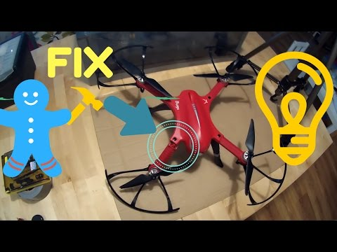 Broken main body replacement on the MJX B3 Bugs 3 brushless drone