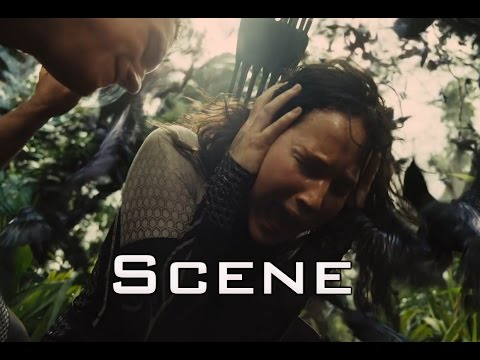 The Hunger Games: Catching Fire - Jabberjay and Johanna Message Scene in HD
