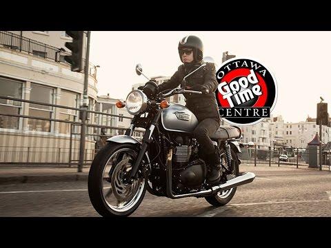 Ottawa Goodtime Centres Bike of the Week: 2015 Custom Triumph Bonneville