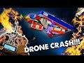 This drone crash cost 30,000 dollar$ (dr