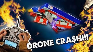 This drone crash cost 30,000 dollar$ (drone clash battle) thumbnail
