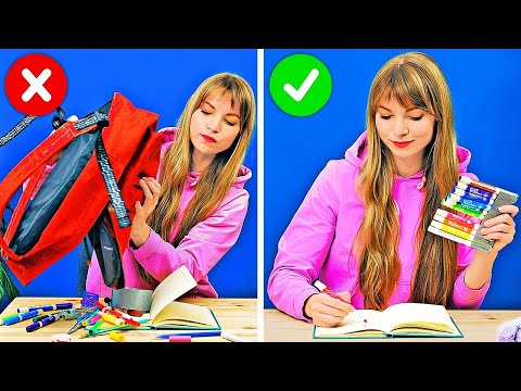28 FUNNY AND USEFUL SCHOOL HACKS AND TRICKS