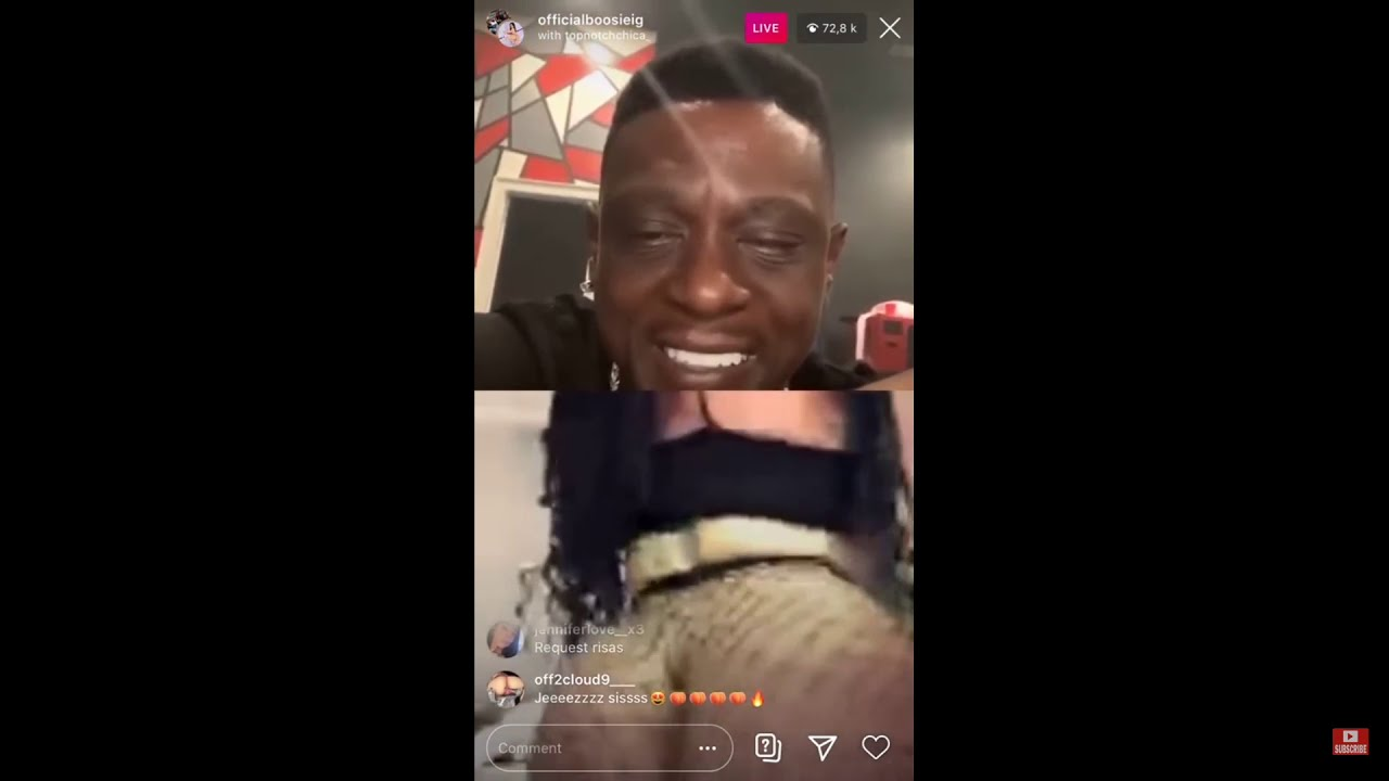 lil boosie makes girls strips on his IG live😂😂😂 - YouTube