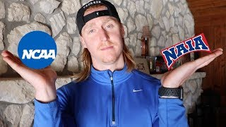 What Is The Difference Between NCAA and NAIA? | VLOG 42