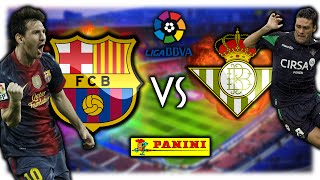 FC BARCELONA - REAL BETIS 20.08.16   PANINI LIGA BBVA ORAKEL