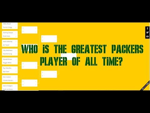 WHO IS THE GREATEST PACKERS PLAYER OF ALL TIME?
