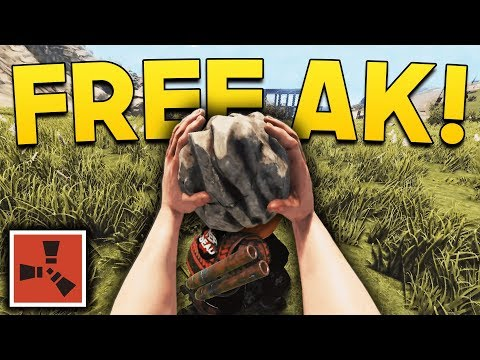 ROCK TO AK IN 26 SECONDS!! | Rust SOLO Gameplay