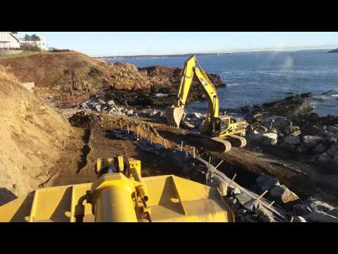 Coastal Bank & Slope Stabilization, Nahant V3 2015