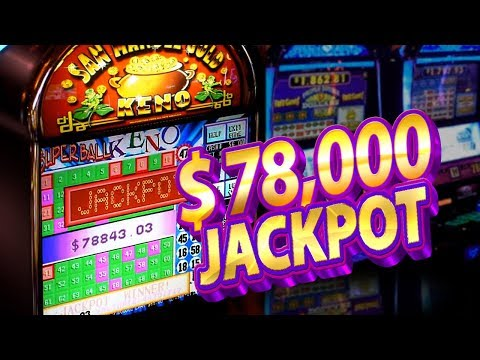 WOMAN HIT $78,000 on Keno !!! San Manuel Gold !!! + Slot Hit Win
