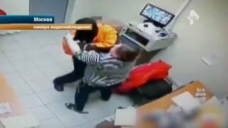Сотрудница магазина в Москве избила вооруженного пистолетом грабителя