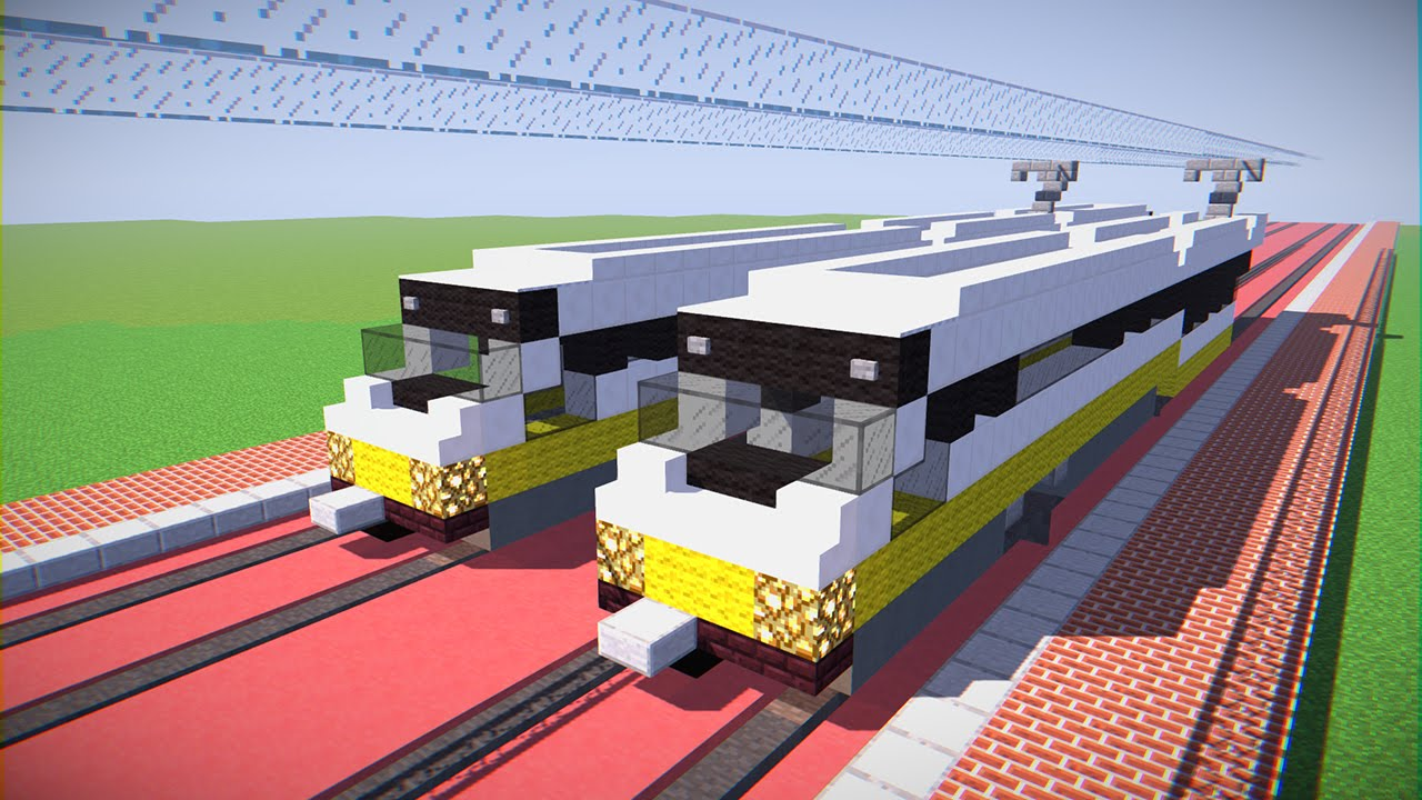 Minecraft via rail lrc canadian train tutorial youtube.